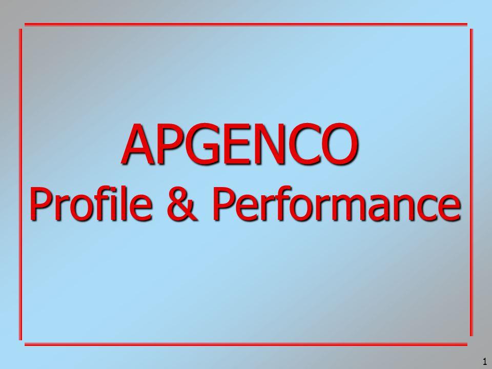 1 APGENCO Profile & Performance