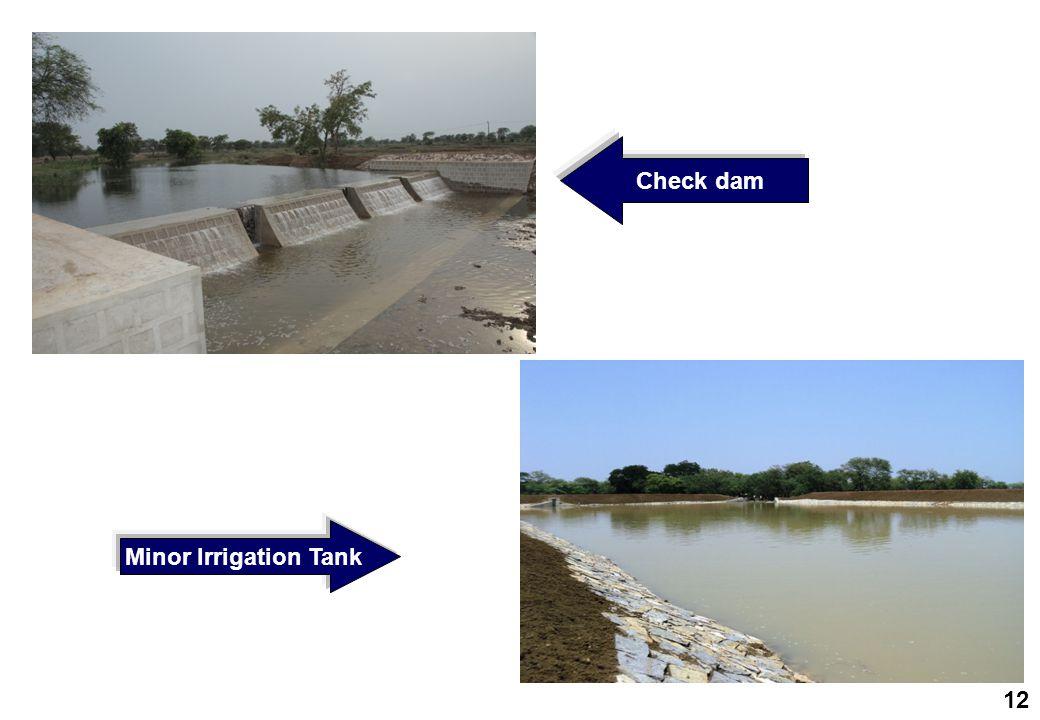 Check dam Minor Irrigation Tank 12