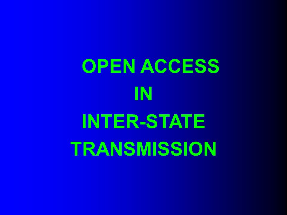 Short- Term Open Access Charges A.