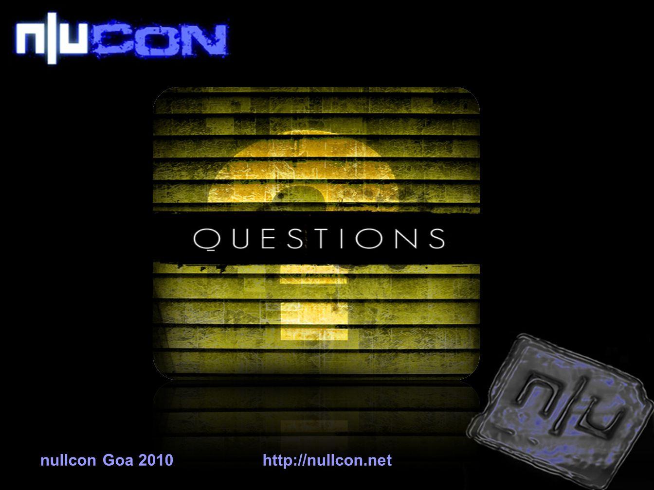 nullcon Goa 2010http://nullcon.net