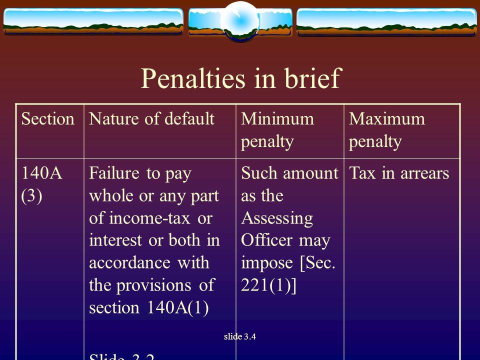 slide 3.4 Section 68 [I.T.Act, 1961] Cash Credits.