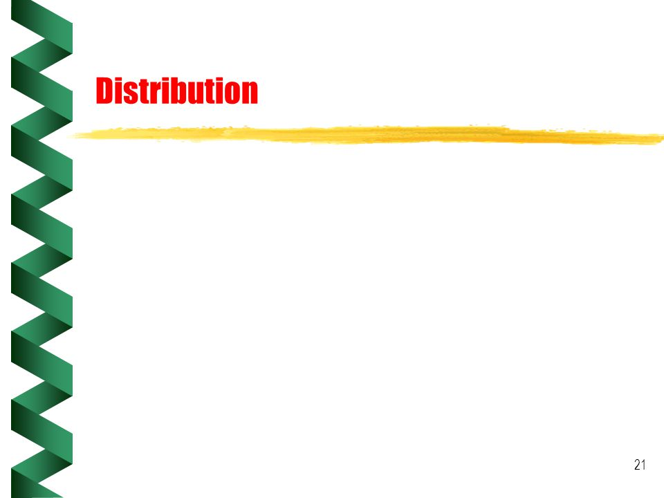 21 Distribution