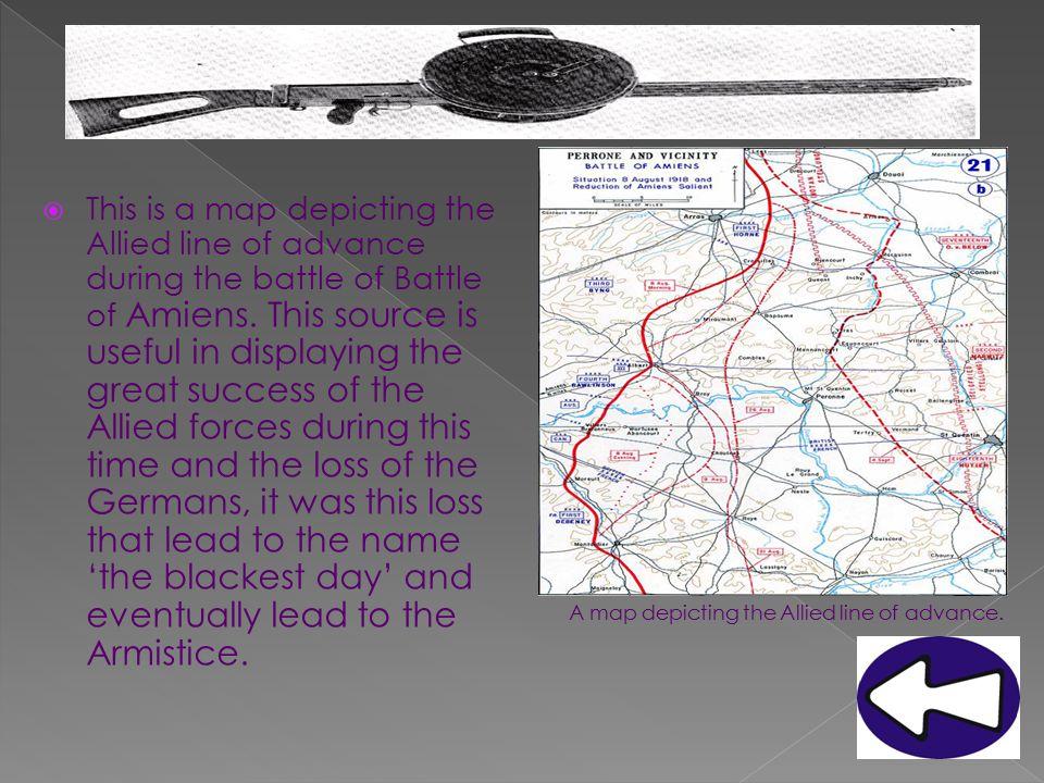  During late October 1918 the German mutinies began.
