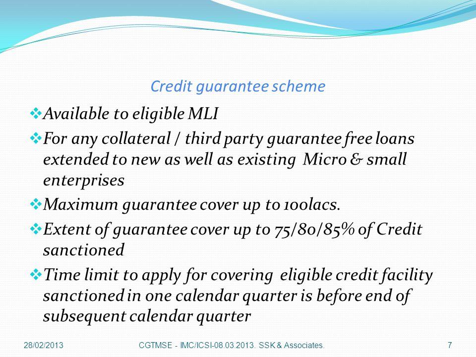Composite all - in guarantee fee Sr.