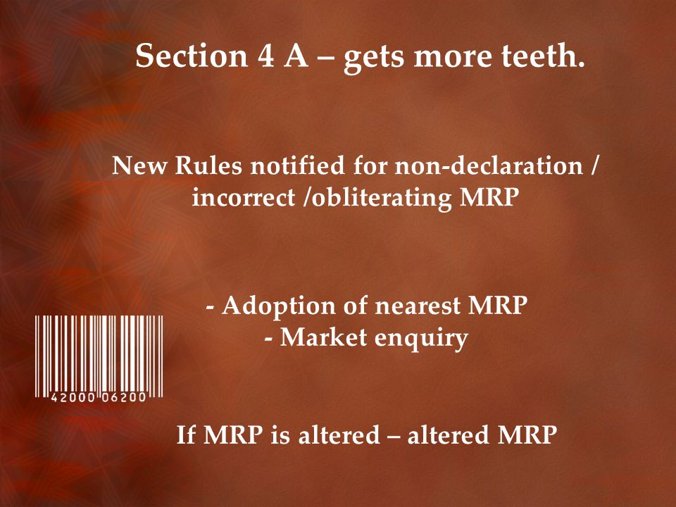 Section 4 A – gets more teeth.