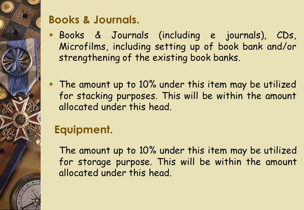 Books & Journals.