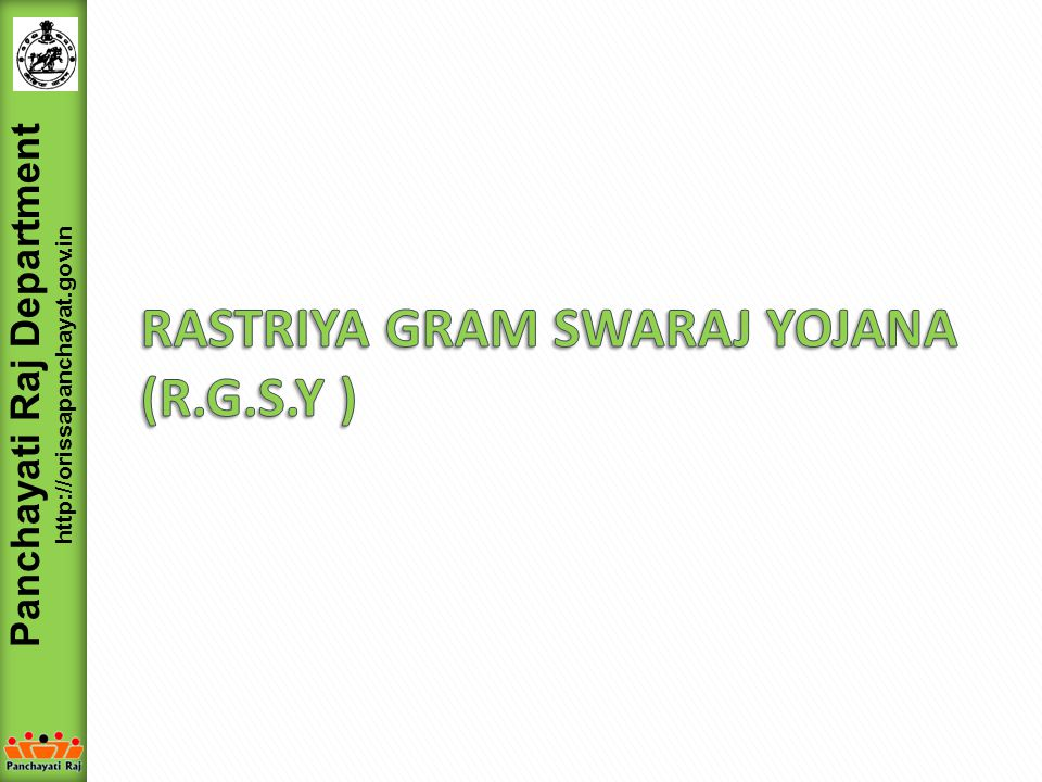 Panchayati Raj Department http://orissapanchayat.gov.in