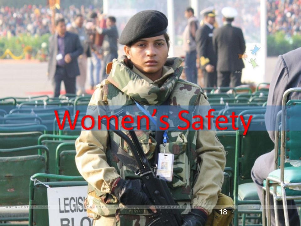 18 Women's Safety 18