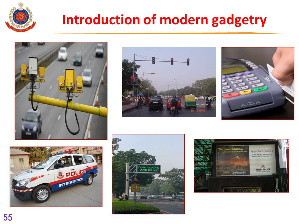 55 Introduction of modern gadgetry