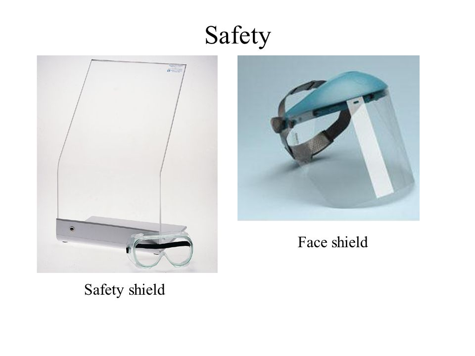 Safety Safety shield Face shield