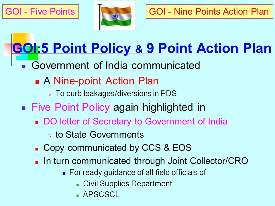 e-PDS INTEGRATED ELECTRONIC SOLUTION TO PDS MANAGEMENT : e-PDS Govt.