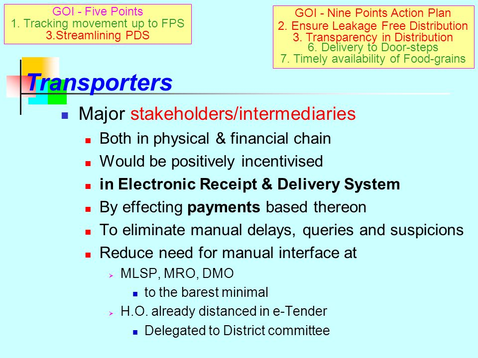 Display… Instructions Joint Collectors/CRO issued instructions to transport contractors appointed by them under Stage I, Stage II & Sugar To display t