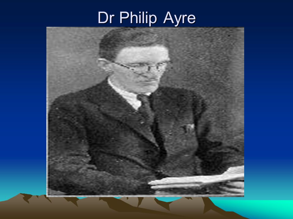 Dr Philip Ayre