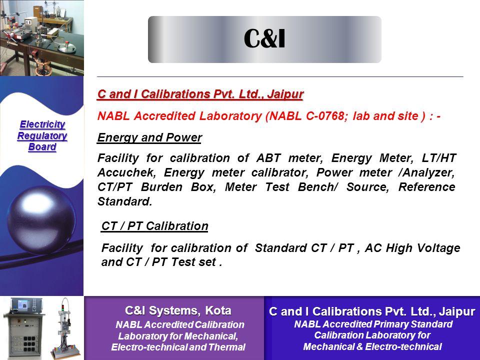 C and I Calibrations Pvt.