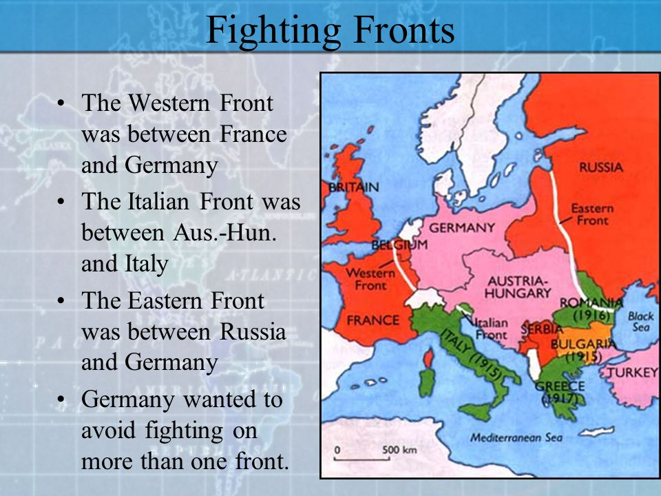 Goals Hold back the Germans Prolong the War (until better technology) Have a Naval Blockade in place Concentrate on the Western Front Conquer France A