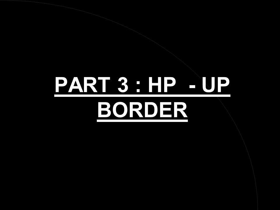 PART 3 : HP - UP BORDER
