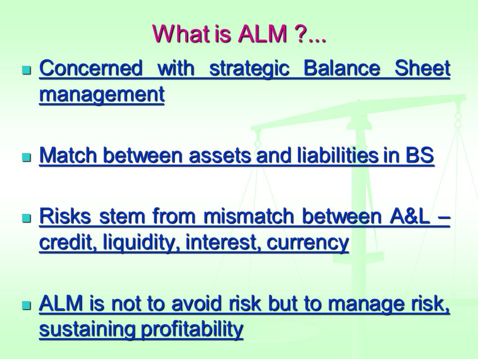 What is ALM ...