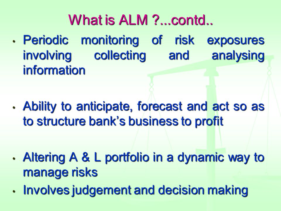 What is ALM ...contd..