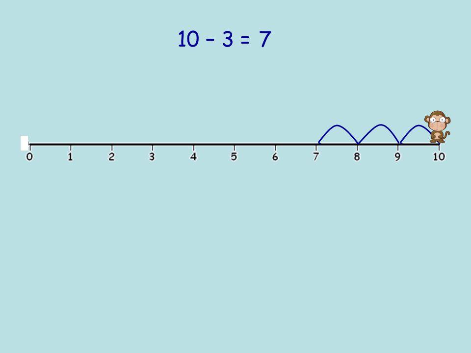 10 – 2 =8
