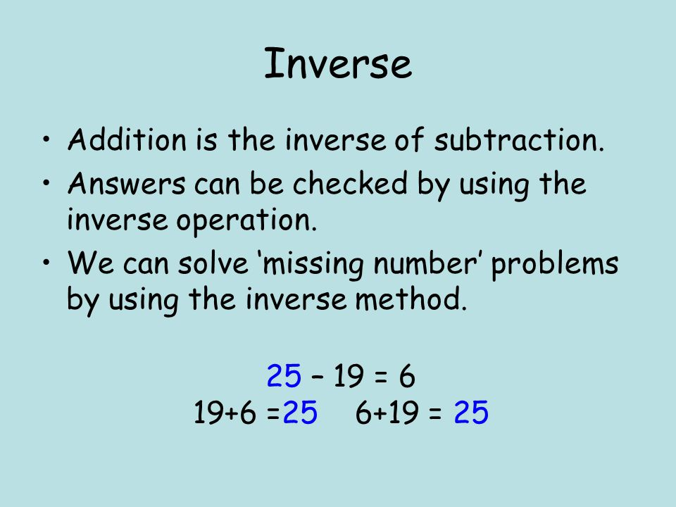 Level 2 Count back in equal steps of 2, 5 and 10 Partition numbers to 100 beyond Derive and recall all addition and subtraction facts for each number