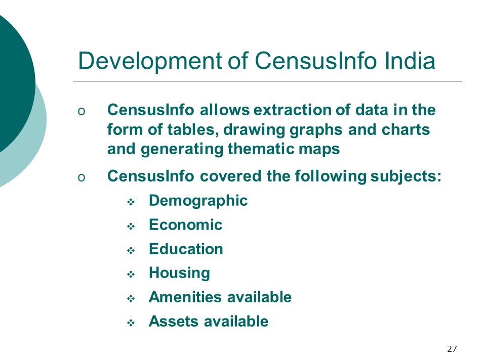 28 CensusInfo India Home Page