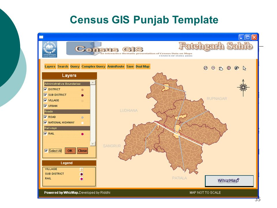 36 Proportion of Agricultural Labourers – Fatehgarh Sahib District : Punjab