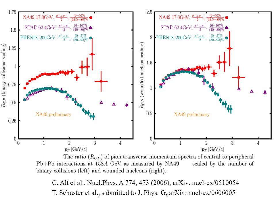 C.Alt et al., Nucl.Phys. A 774, 473 (2006), arXiv: nucl-ex/0510054 T.