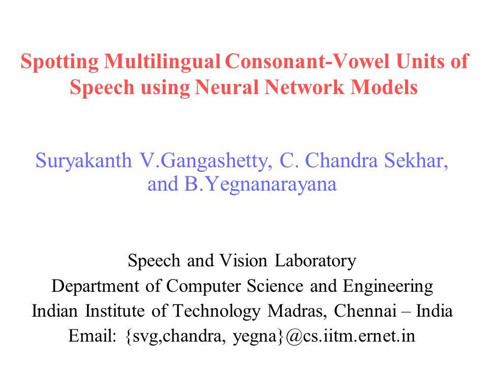 Classification of CV Segments using SVMs