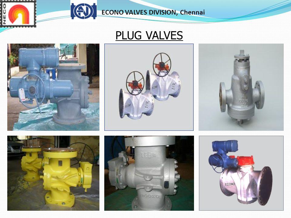 ECONO VALVES DIVISION, Chennai PLUG VALVES