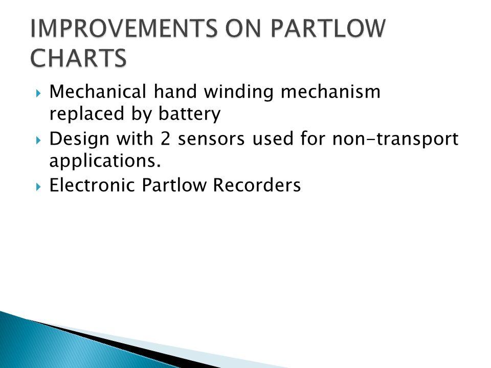  Mechanical hand winding mechanism replaced by battery  Design with 2 sensors used for non-transport applications.