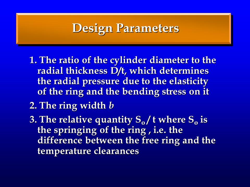 Design Parameters 1.