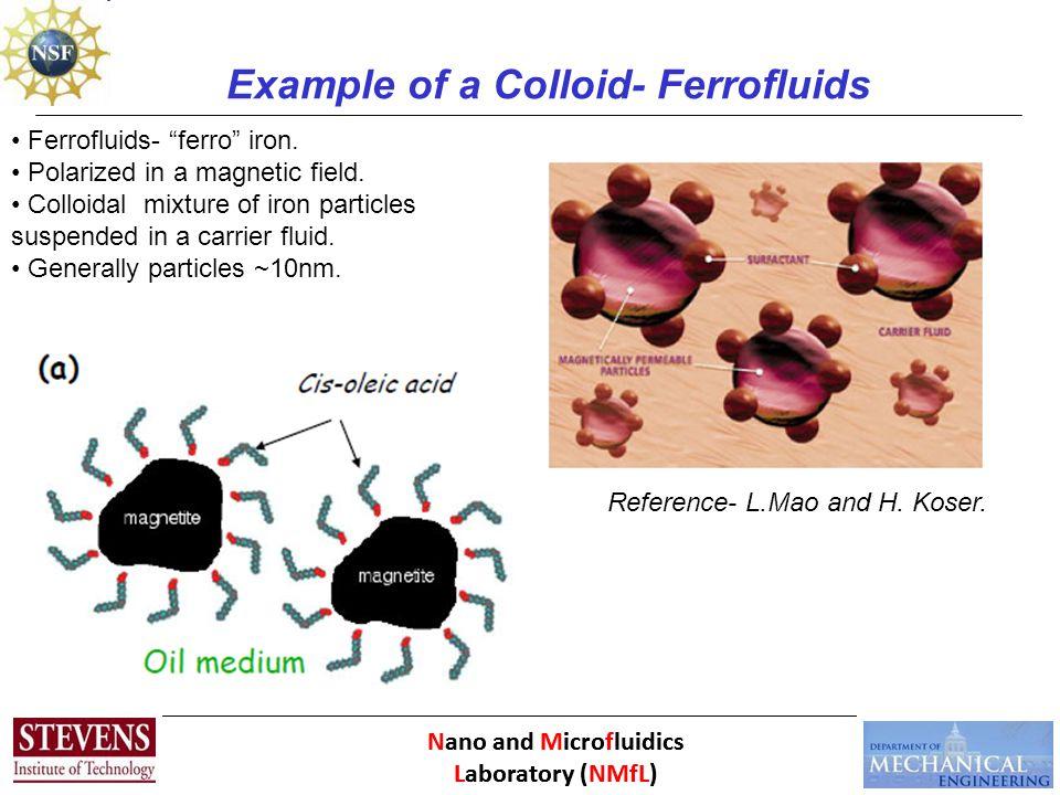 Nano and Microfluidics Laboratory (NMfL) History Developed by NASA in the 1960's.