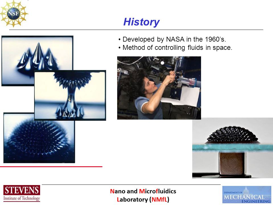 Nano and Microfluidics Laboratory (NMfL) Thank you. Questions?