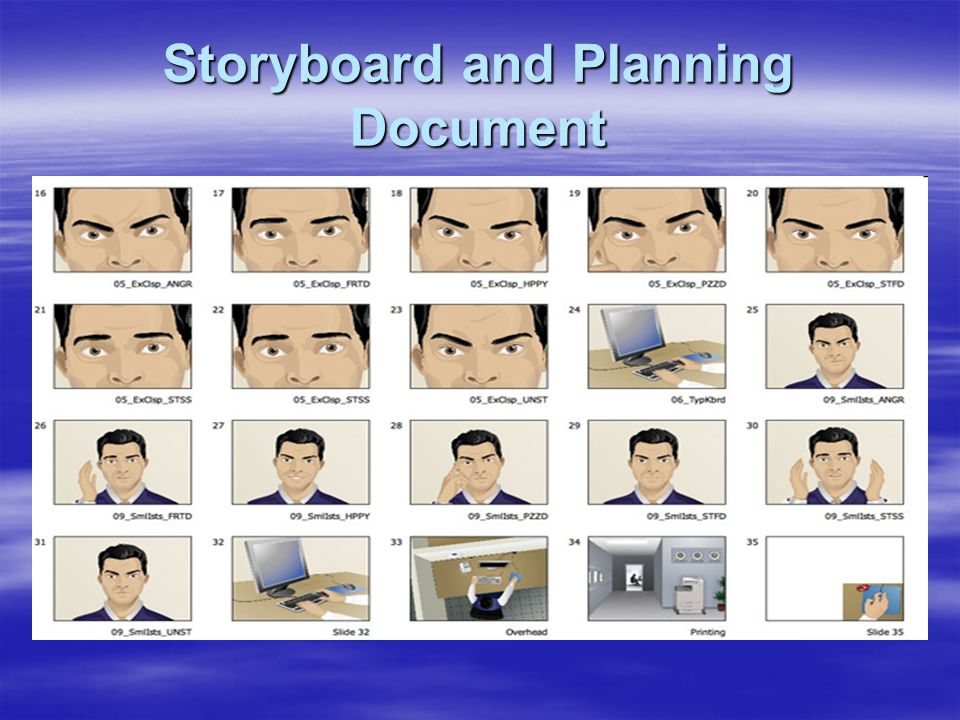 Storyboard and Planning Document