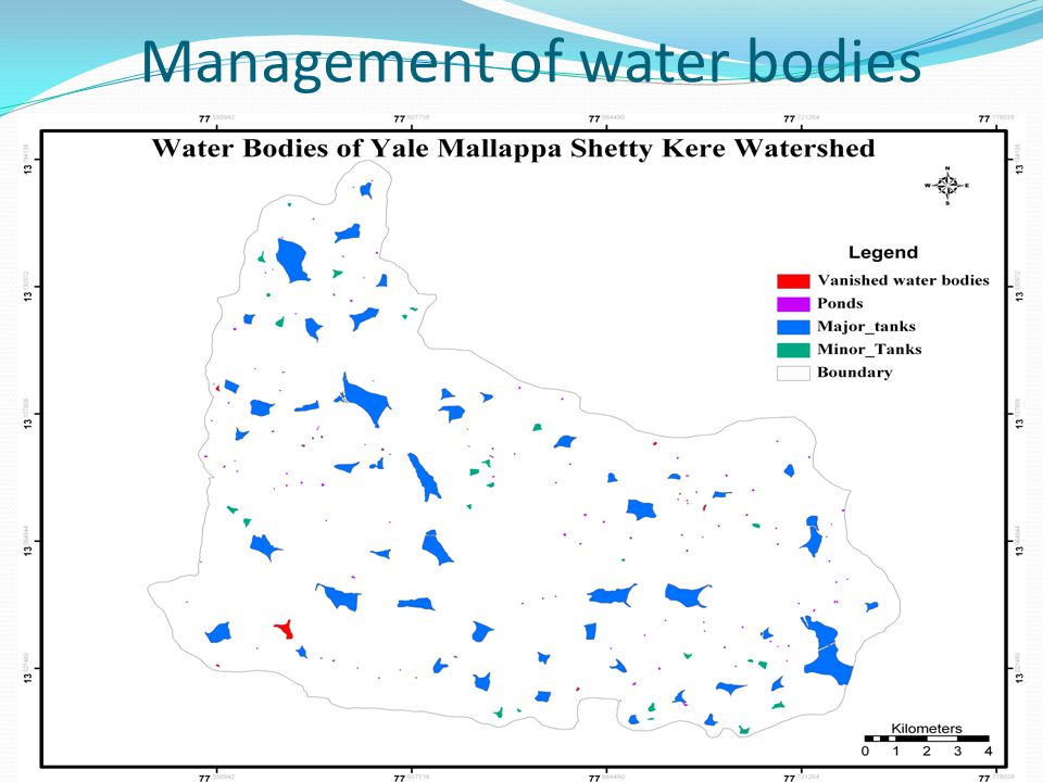 Management of water bodies