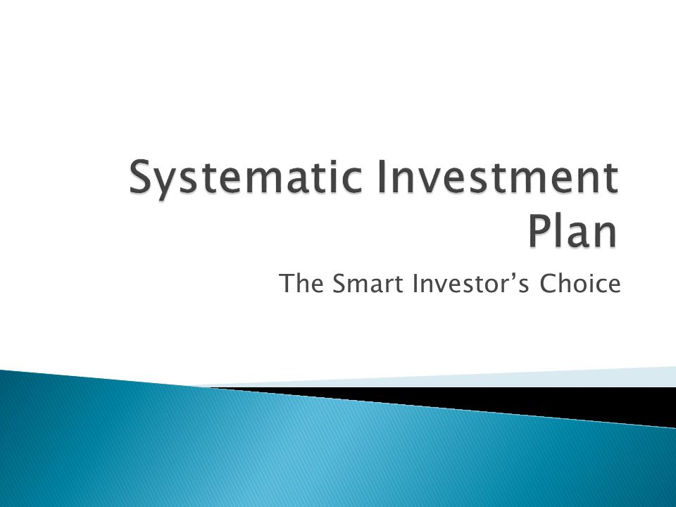 The Smart Investor's Choice