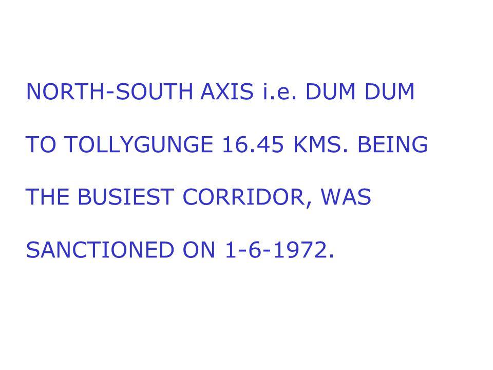 COMMERCIAL RUNNING OF INDIA'S FIRST METRO COMMENCED BETWEEN ESPLANADE AND BHOWANIPUR (NOW NETAJI BHAVAN) ON 24-10-1984.