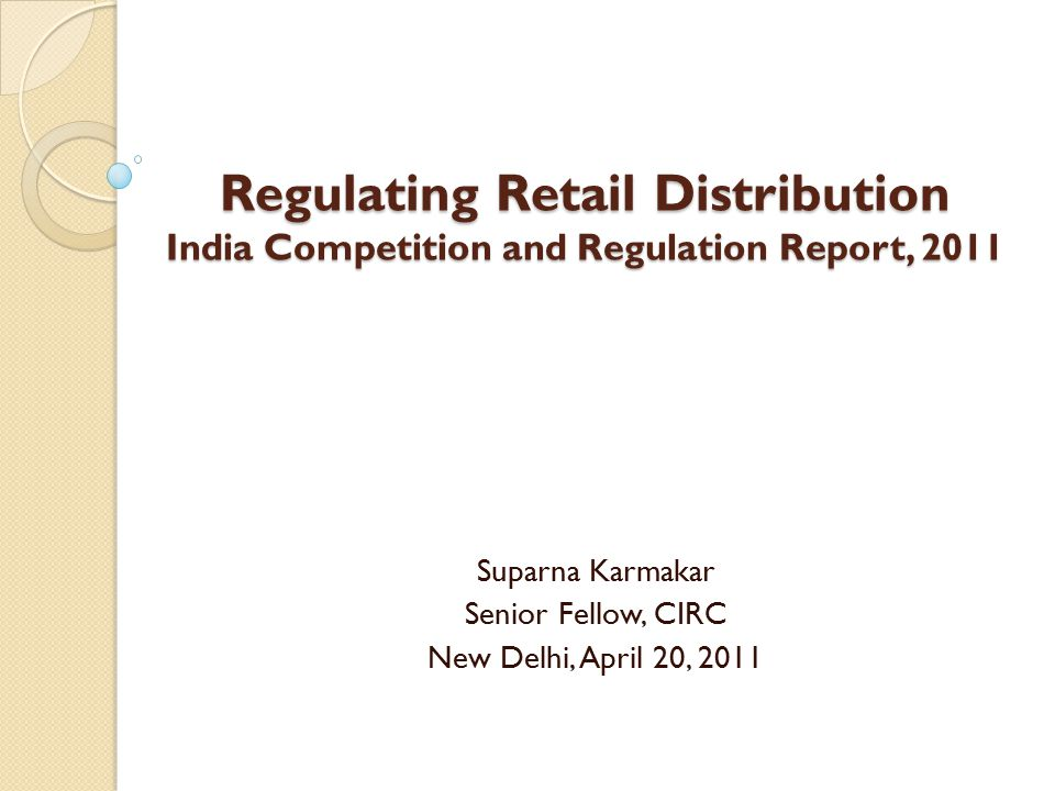 Introduction Fastest growing sector in india – consistent double digit growth for nearly a decade Major contributor to GDP – about 14% of the Indian GDP is contributed by the retail and wholesale trade India is the most attractive emerging market destination for retail investment Dominated by the unorganised sector – share in revenue nearly 95% ◦ Organised retailing has few large sellers and is limited to urban buyers; but growing market share and expected to nearly reach USD100 billion, and 12.4% of total retail sales 2