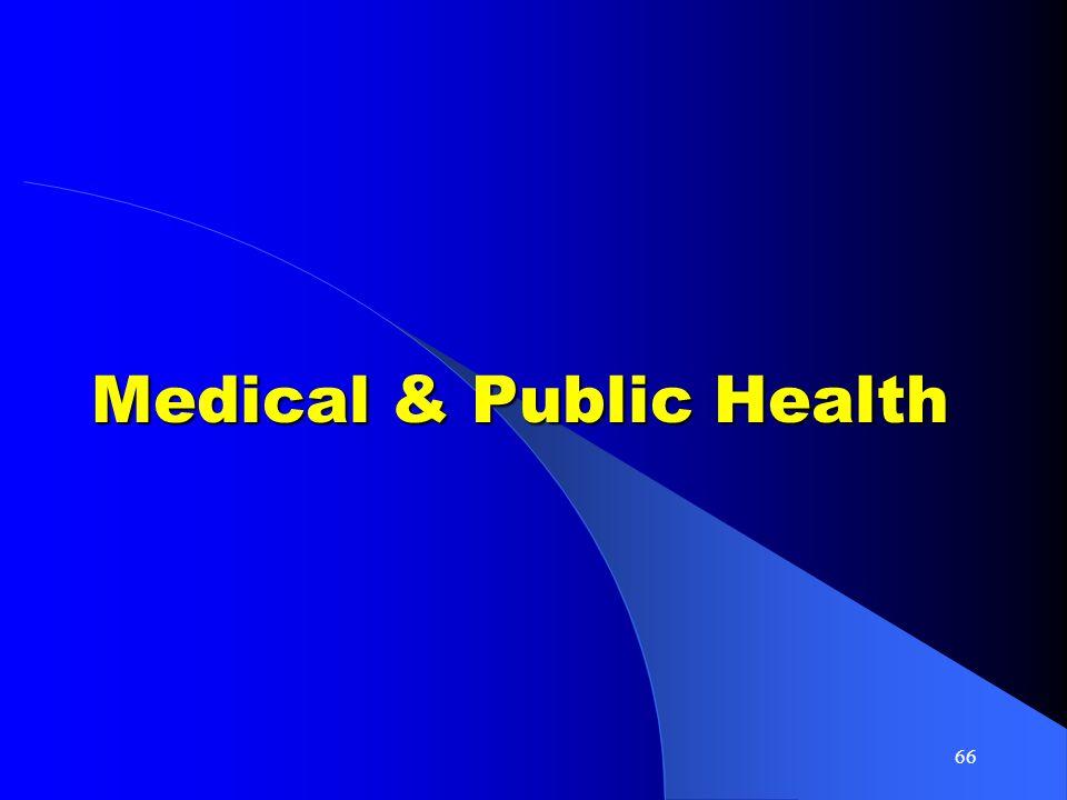 66 Medical & Public Health