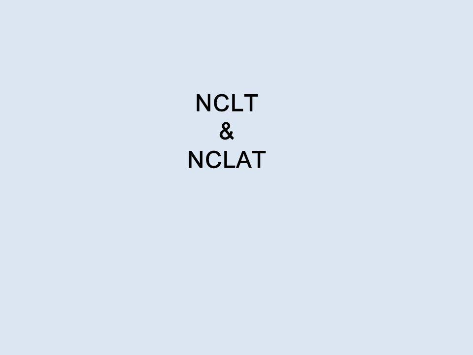 NCLT & NCLAT