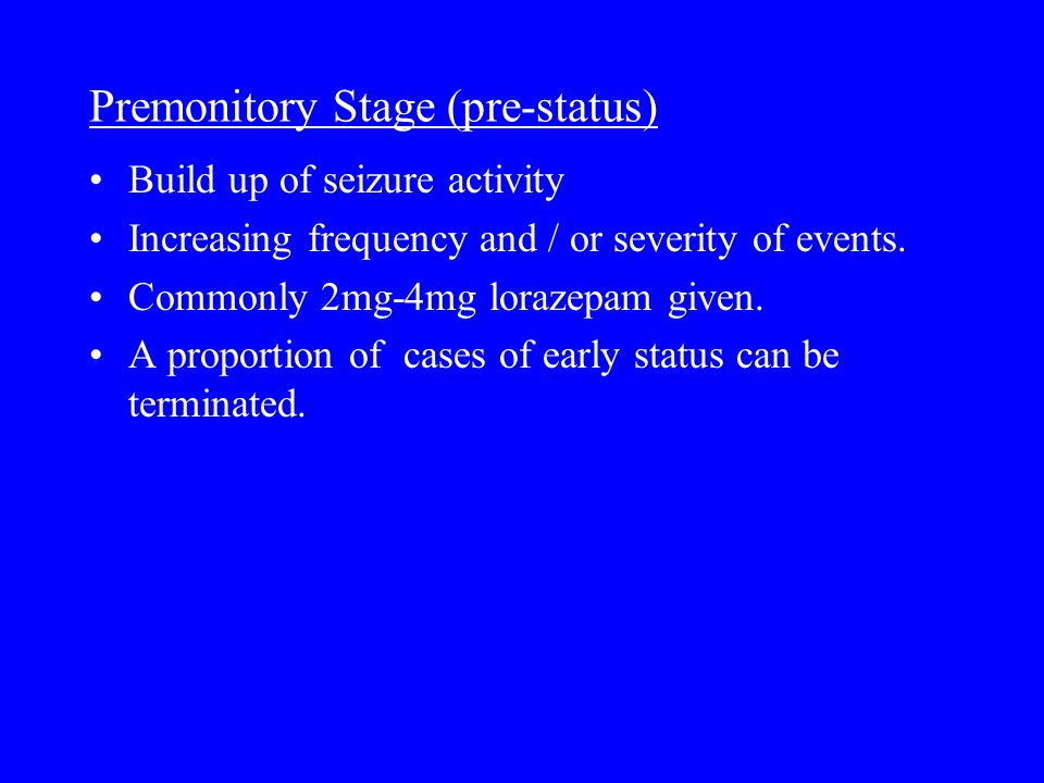 Other forms of status Non-convulsive status epilepticus (NCSE).