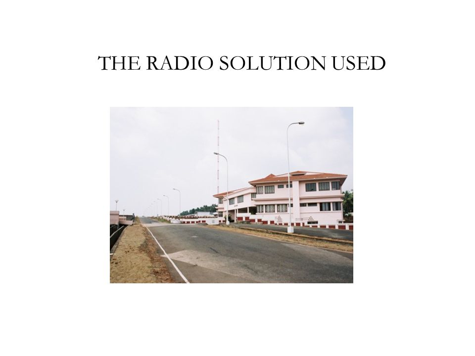 THE RADIO SOLUTION USED