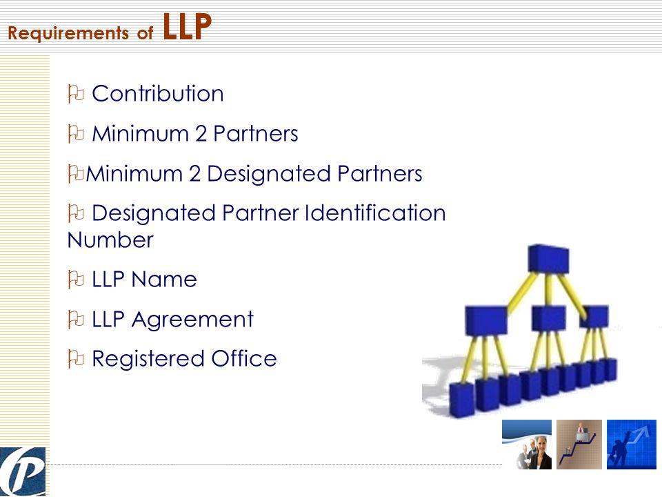 Management of LLP Partners Designated Partners Shareholders Directors