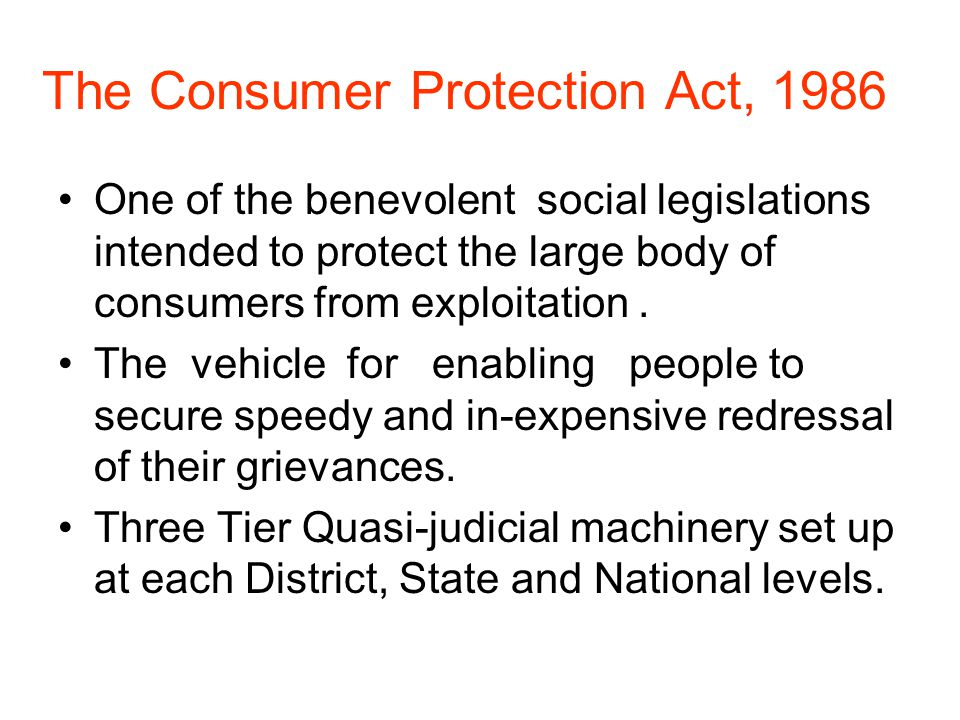 National Consumer Dispute Redressal Commission Established under section 9 (c) of the Consumer Protection Act,1986 Jurisdiction: –Petitions –Appeals against orders passed by State Commissions –Revisional jurisdiction –Power to review or set aside ex-parte order powers of administrative control over all the State Commissions