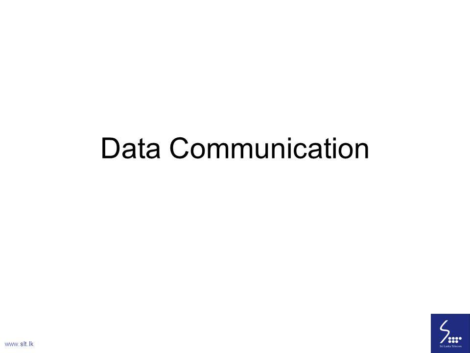 20 Data Communication www.slt.lk