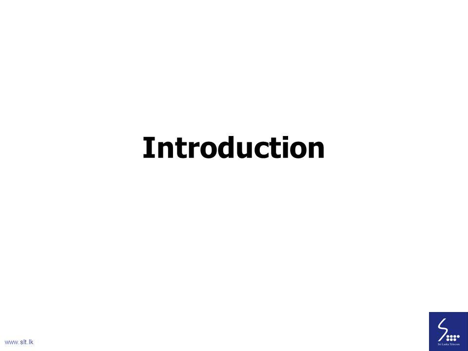 4 Introduction www.slt.lk