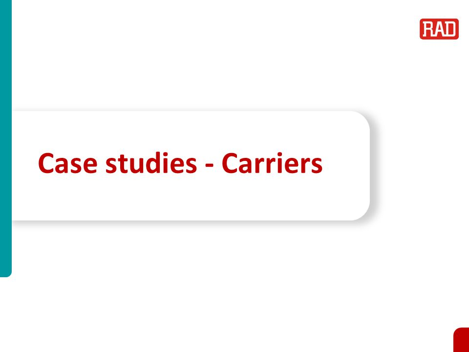 Case studies - Carriers