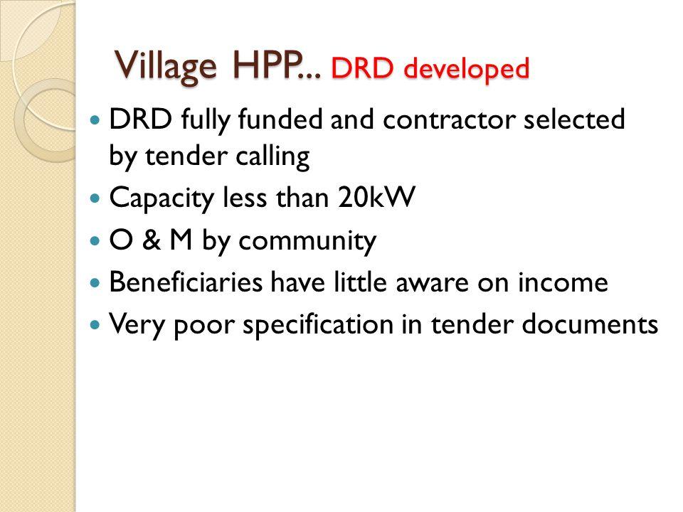 Village HPP...