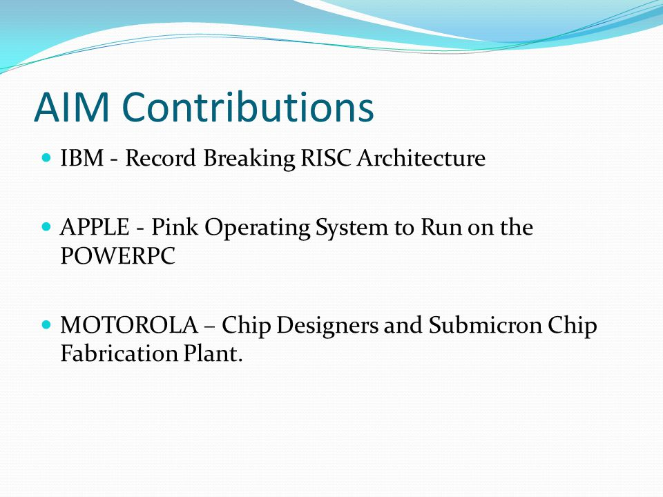 What They Gained !!.IBM - merchant semiconductor market they were looking for.