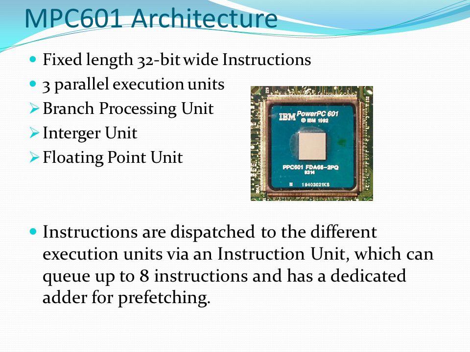 PowerPC 601 Architecture
